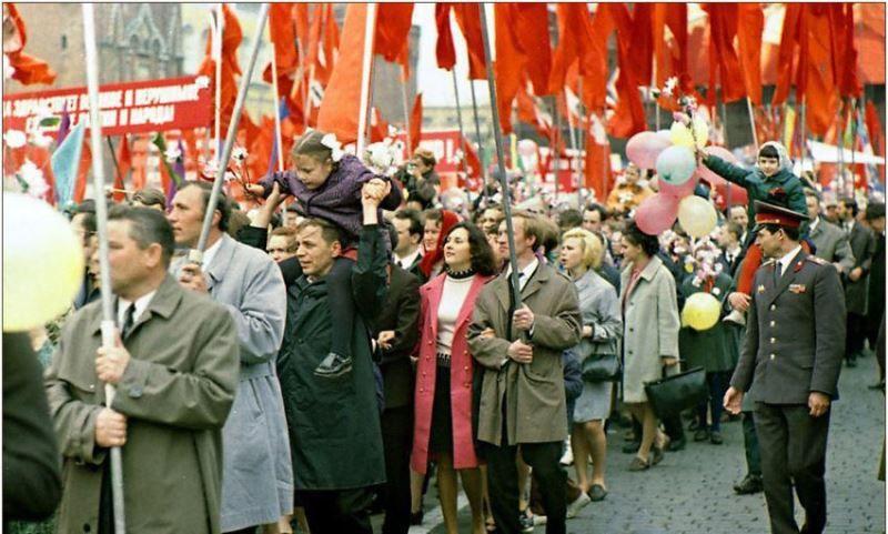 Праздник 1 Мая в СССР