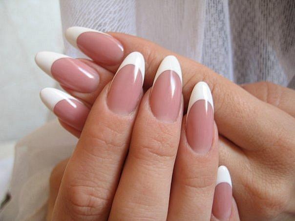 форма ногтей миндальная фото