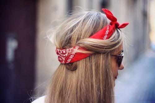 Бандана: как носить на волосах