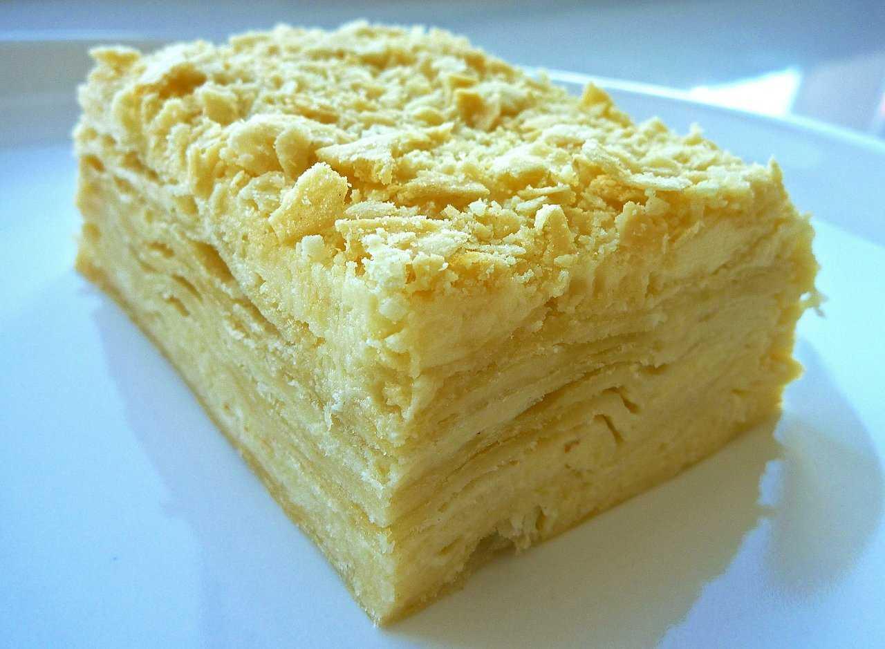 Наполеон торт на масле рецепт пошагово в