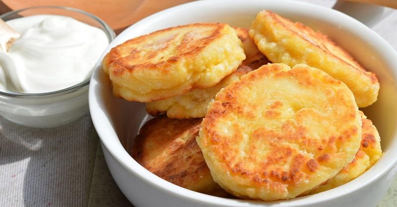Сырники из творога с манкой рецепт с пошагово