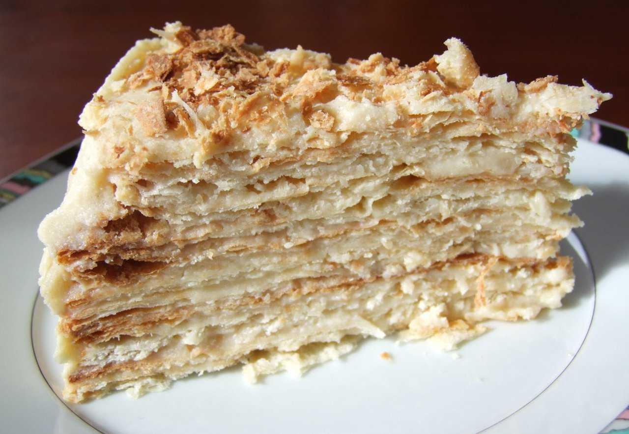 Наполеон торт наполеон рецепт с заварным кремом самый вкусный от бабушки