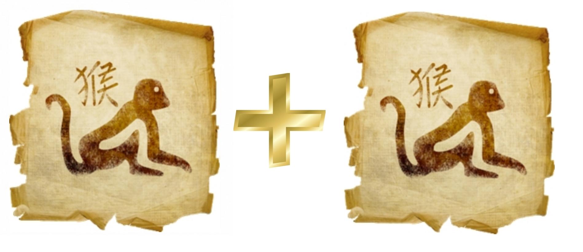 Обезьяна и Обезьяна: гороскоп совместимости в любви