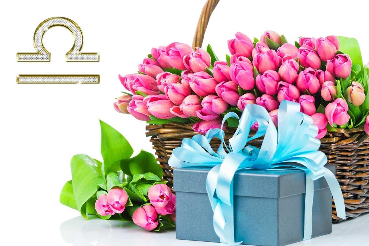 Поздравления с подарком-цветы