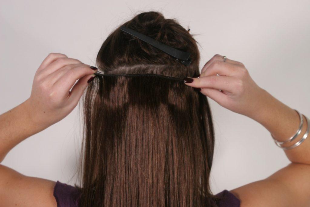 Голливудское наращивание волос: видео, фото до и после