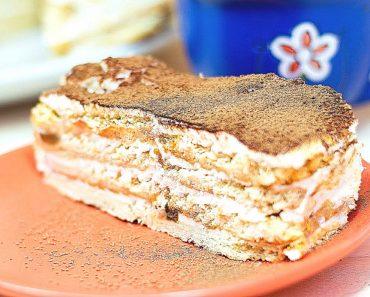 Торт со сгущенкой без выпекчки - рецепт пошагово, фото, видео