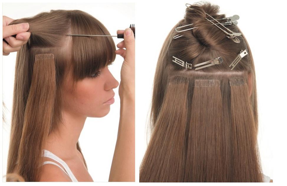 Волосы насадить на ленты возможно? - Наращивание волос - Я 5