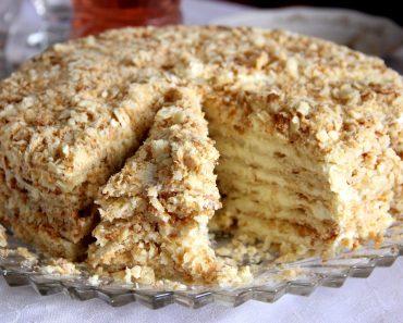 Торт без выпечки со сметаной, бананами и другими фруктами - рецепт пошагово, фото, видео