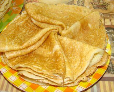 Блины на кефире тонкие и пышные - рецепт пошагово, фото, видео