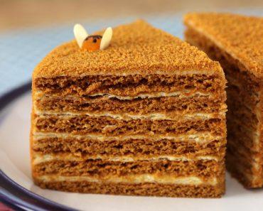 """Классический торт """"Медовик"""" в домашних условиях - рецепт с фото и видео пошагово быстро и вкусно"""