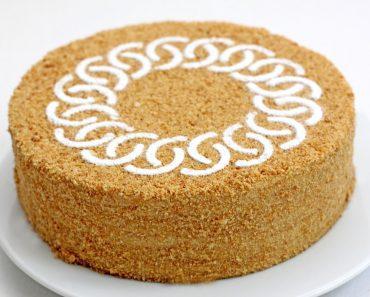 Медовый торт (медовик) со сметанным кремом в домашних условиях - приготовление пошагово с фото и видео