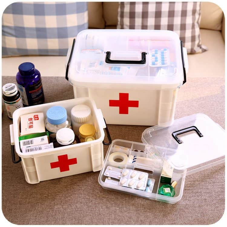 Что должно быть в аптечке первой помощи