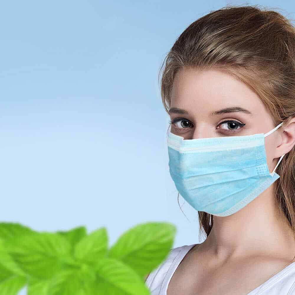 Как правильно носить маску медицинскую, какой стороной