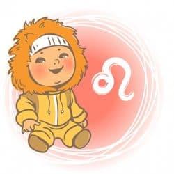 Ребенок Лев по знаку зодиака: характер и поведение мальчика и девочки