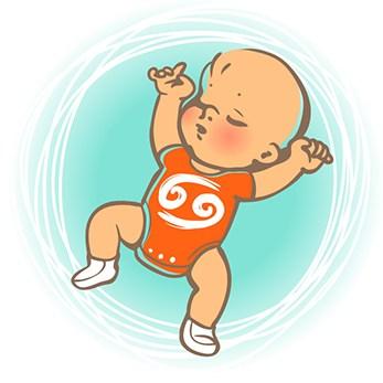 Ребенок Рак по знаку зодиака: характер и поведение мальчика и девочки