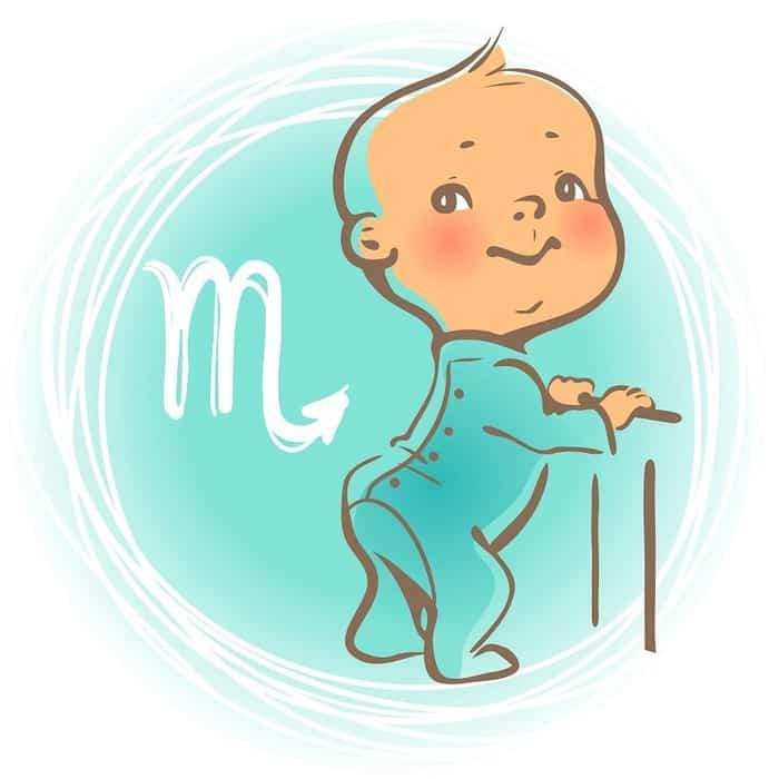 Ребенок Скорпион по знаку зодиака: характер и поведение мальчика и девочки