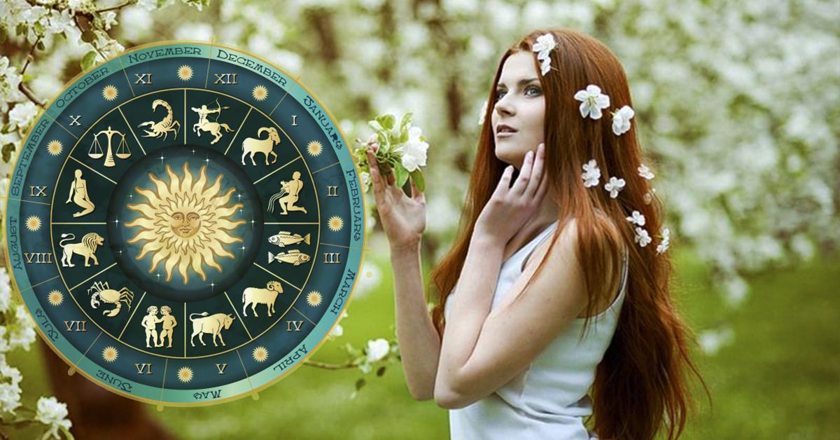 Девушка в белом, гороскоп