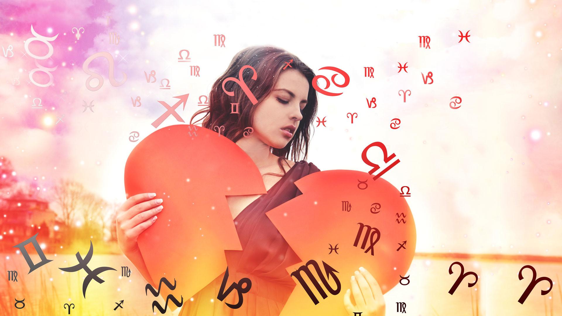 Гороскоп, разбитое сердце, девушка