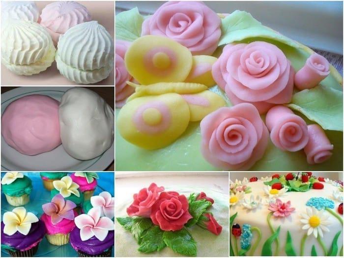 Мастика для торта: рецепт и способ приготовления в домашних условиях с фото и видео