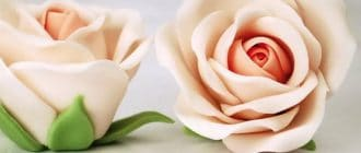 Розы из мастики для торта пошагово с фото и видео в домашних устиловиях