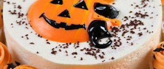 Торт на Хэллоуин в домашних устовиях: пошаговая инструкция, фото