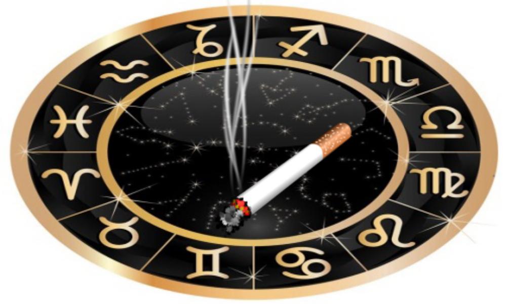 Знаки зодиака и сигарета