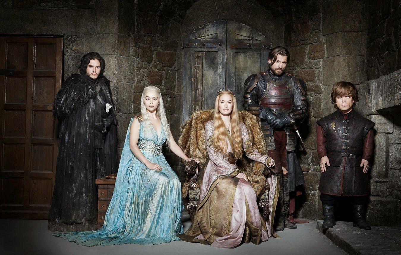 Игра престолов: Серсея, Дейнерис, Джейме, Тирион, Джон Сноу