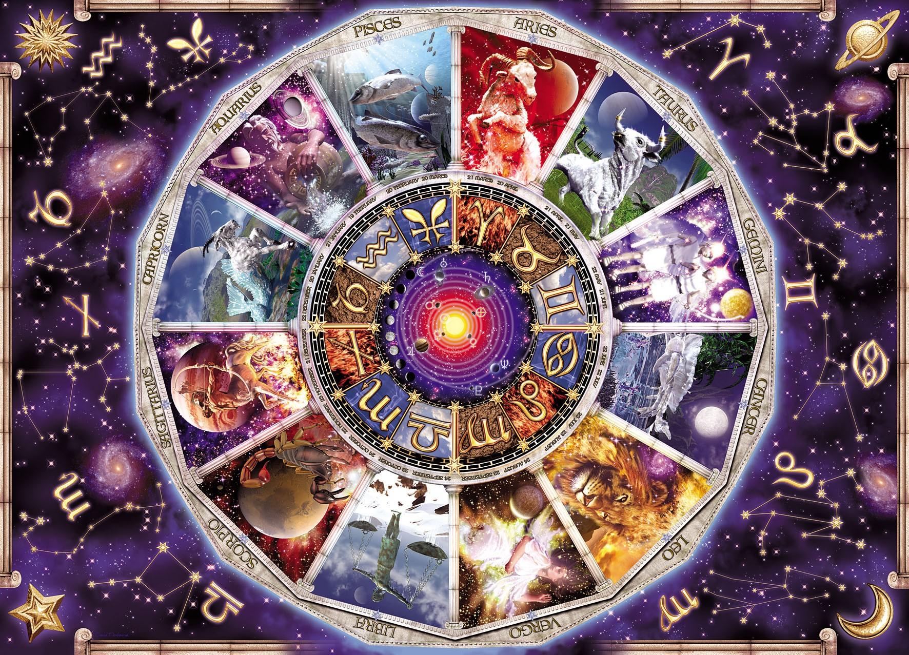 Знаки зодиака - яркое и красивое изображение