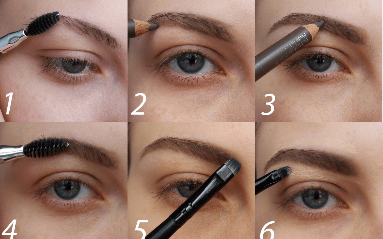 Как нарисовать брови самой себе: поэтапная схема
