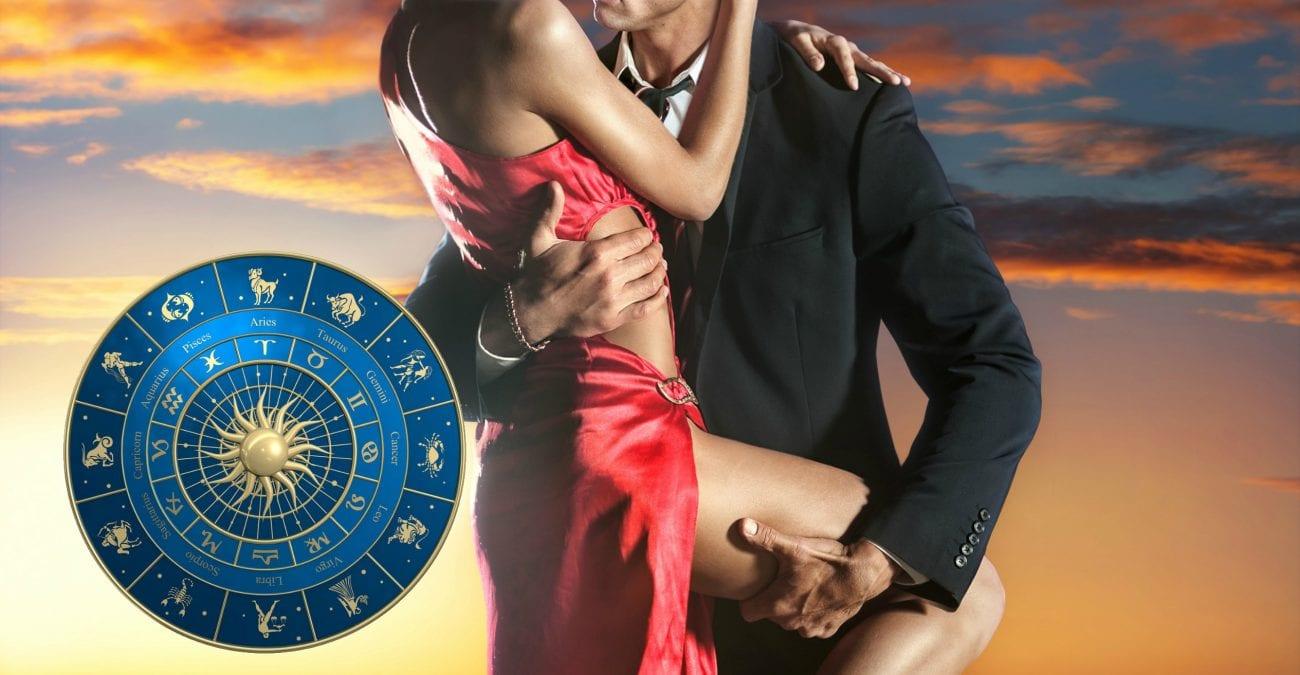 Знаки зодиака, страсть парня и девушки