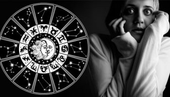 знаки зодиака, испуганная девушка