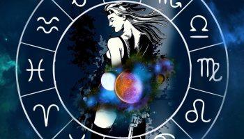 гороскоп, девушка с пистолетом