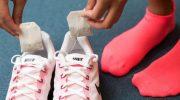 Обувь, устранение запаха чайными пакетиками