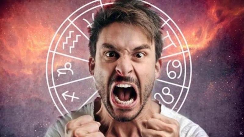 знаки зодиака, агрессия