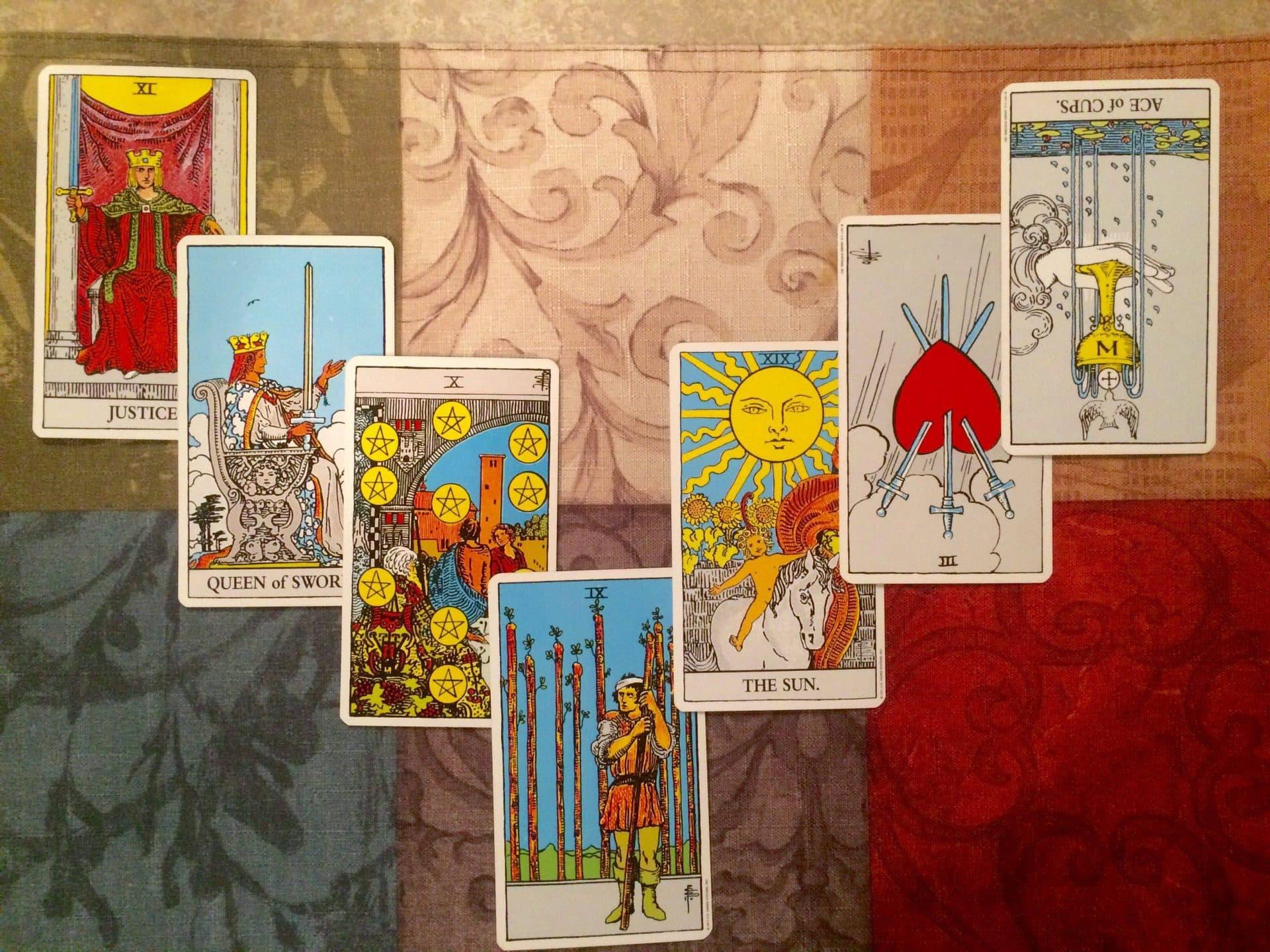 семь карт таро