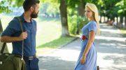 Девушка и парень - встреча