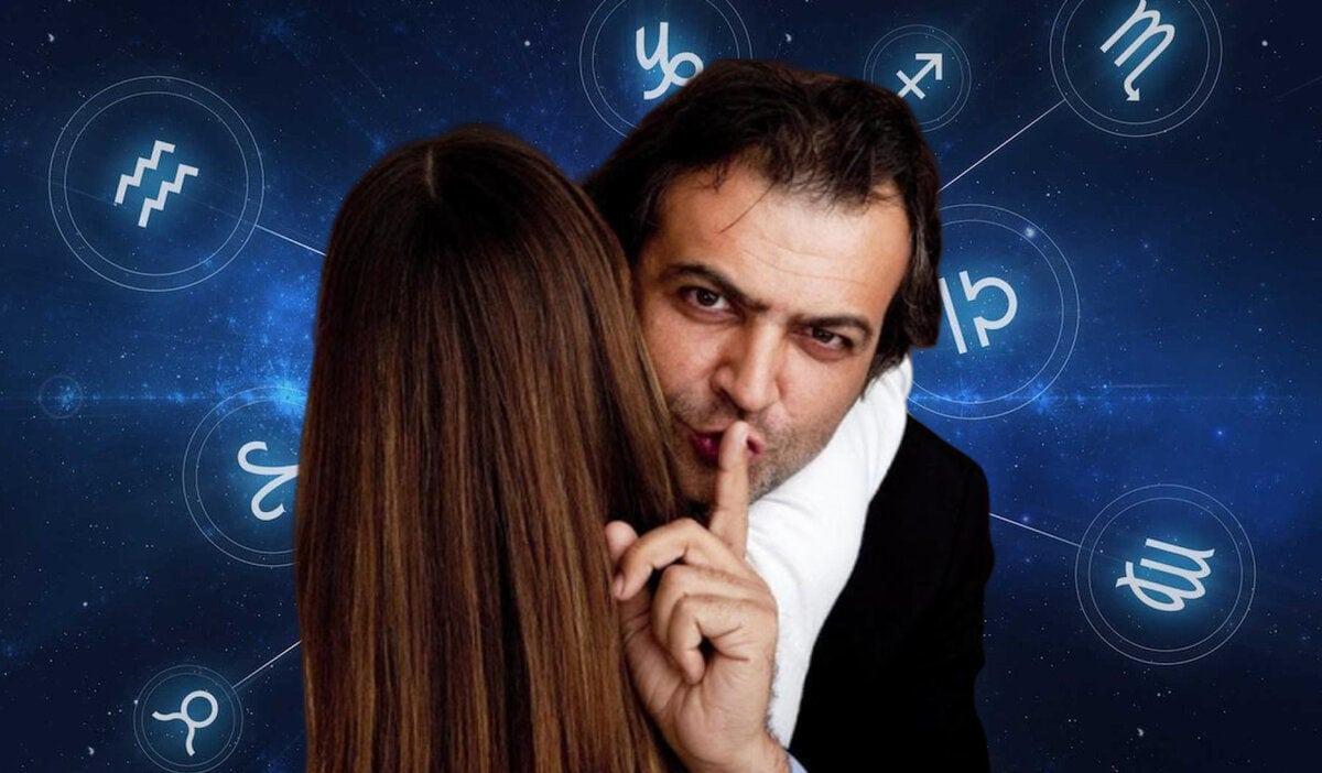 знаки зодиака - тайны, палец у губ