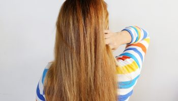 рыжие волосы, девушка со спины