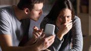 Муж злится из-за переписки жены