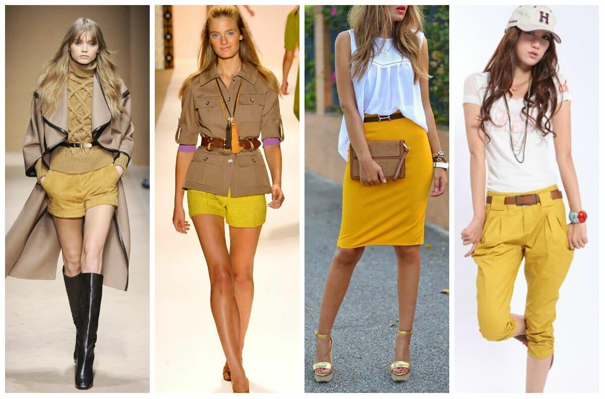 Цвет хаки в одежде